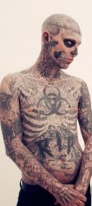 Fenomen Zombie Boy'a