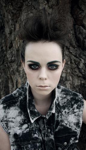 Makijaż w stylu grunge
