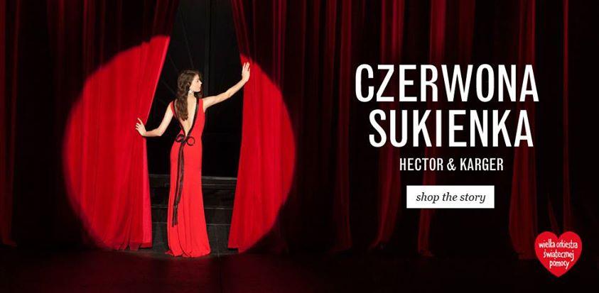 Czerwona sukienka  - akcja wośp